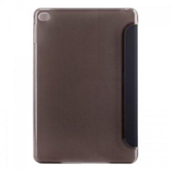 Slim PU Leather Magnetic Tri-Fold Smart Stand Cover Case for iPad Mini 4 – Black